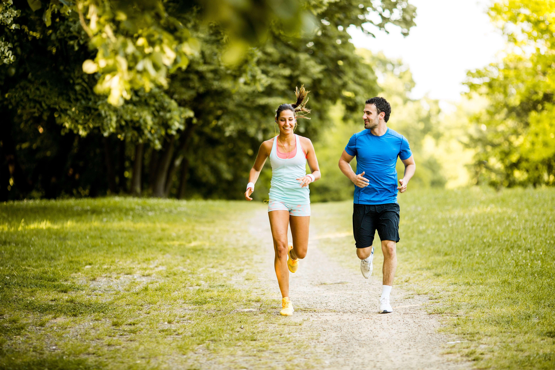hardlopen en snel afvallen