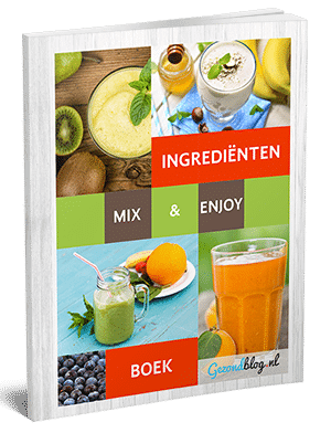 Cover smoothie ingredientenboek 300px